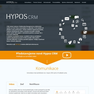 Hypos CRM | 2014 | Reference | Orange house s.r.o.