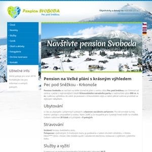 Pension Svoboda | 2014 | Reference | Orange house s.r.o.